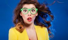 Des lunettes vertes c'est bof!