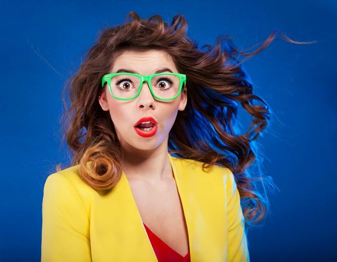 Des lunettes vertes c'est bof