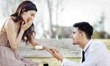 Demande en mariage, hier il m'a fait sa demande