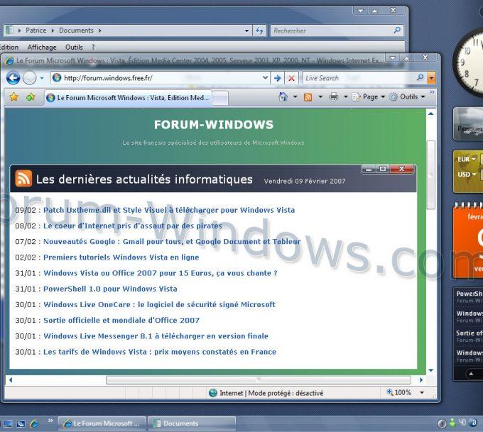 Comment installer windows vista ?