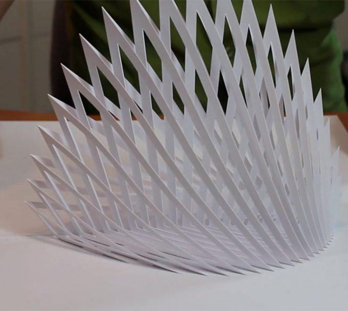 Comment faire une sculpture en papier ?